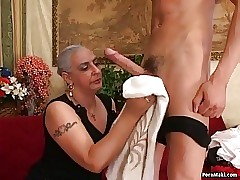 Mature sweden milf fucking with chubby arab gilf